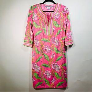 Gretchen Scott Pink Floral Shift Dress